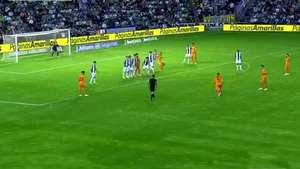 Sergio Ramos anota golazo de tiro libre y se lo dedica a Cristiano Ronaldo Video: