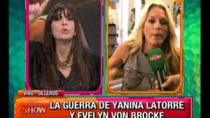 Sigue la guerra: Edith Hermida bancó a Evelyn y Yanina estalló Video: