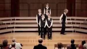 El coro infantil que dejó helada a su audiencia Video: