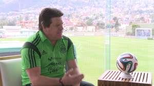 Miguel Herrera, dice que en Brasil jugarán los que estén en mejor momento. Video: