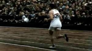 Emotiva definición en la Maratón olímpica de Londres 1948 Video: