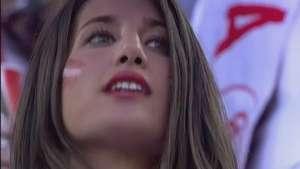 Bellas hinchas roban la atención en final de la Liga Europa Video: