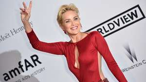 Sharon Stone vuelve a estremecer Cannes durante gala solidaria Video: