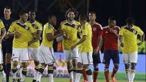Colombia se despide con fútbol de su afición Video: