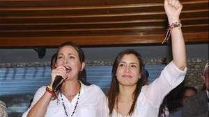 Venezuela: ganan las esposas de los alcaldes opositores presos Video: