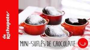 Receta de Mini soufflés de chocolate  Video: