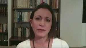 Machado rechaza denuncia de Maduro de vincularla con magnicidio Video: