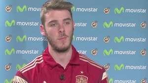 """De Gea: """"La portería está difícil, quitar a Casillas es muy complicado"""" Video:"""
