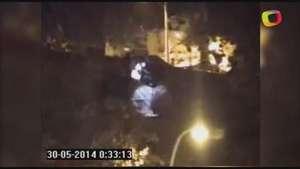 Gracias a helicóptero de Carabineros frustran robo a farmacia Video:
