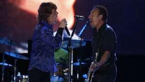 Bruce Springsteen se suma a la fiesta de los Rolling Stones Video: