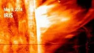La NASA registra en video gigantesca explosión solar Video:
