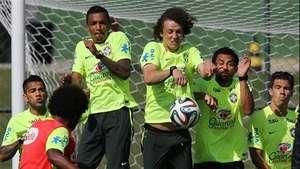 Scolari critica el entrenamiento de Brasil Video:
