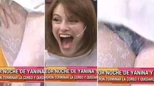 Periodista argentina mostró más de la cuenta tras descuido Video: