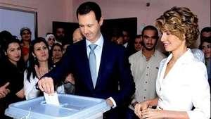 Asad vota seguro de su victoria Video: