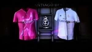 El Real Madrid da a conocer sus nuevas equipaciones Video: