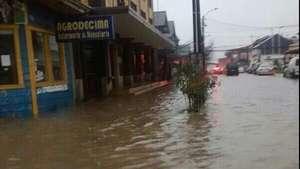 Fuertes lluvias causan estragos en Región de Los Lagos Video:
