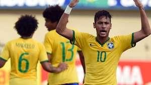 Brasil golea a Panamá en amistoso con show de Neymar Video: