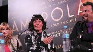 Geraldine Chaplin presenta en Argentina