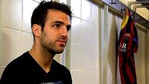 """Fàbregas: """"Quiero meter el gol en la final"""" Video:"""