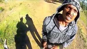 Graba con una GoPro el momento en que le roban su bicicleta Video: