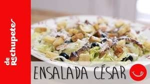 Receta de ensalada césar Video: