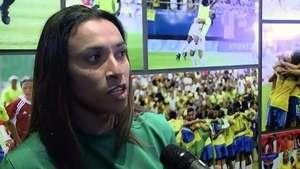 Marta quiere más mujeres en el Mundial Video: