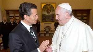 El Papa acepta la invitación de Peña Nieto para ir a México Video: