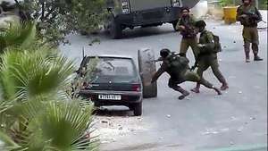 El día que un neumático palestino venció a soldados israelíes Video: