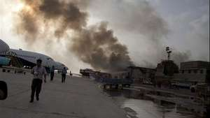 Imágenes del asalto al principal aeropuerto de Pakistán Video: