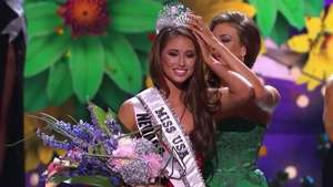 Miss Nevada Nia Sánchez gana concurso Miss USA 2014 Video: