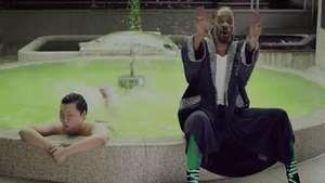 Como rapero y ebrio: así aparece Psy en el nuevo hit Video: