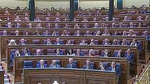 El Congreso español da el sí a la abdicación de Juan Carlos I Video:
