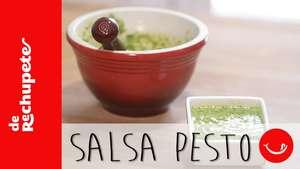 Receta de salsa pesto Video: