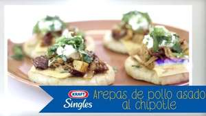 Un Verano Inolvidable: Arepas de pollo asado al chipotle Video: