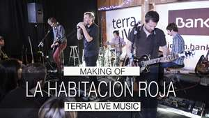 Making of de Terra Live Music: La habitación roja Video:
