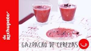 Receta de Gazpacho de cerezas Video: