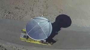 Así se trasladó la monumental antena del observatorio ALMA Video: