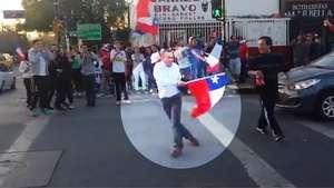 Se tomó todo, agarró la bandera y este es el resultado Video:
