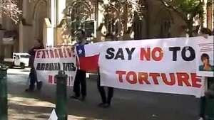 Piden en Australia extradición de colaboradora del régimen chileno Video: