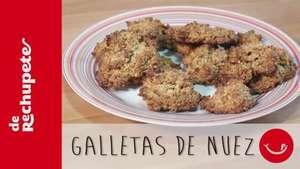 Receta de Galletas de nuez Video: