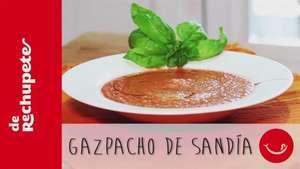 Receta de gazpacho de sandía Video: