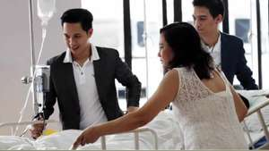 Novio con enfermedad terminal cumple sueño y se casa antes de morir Video: