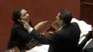 Polémica discusión en Congreso termina en insultos Video: