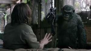Impactante nuevo clip de 'El Planeta de los Simios: Confrontación' Video: