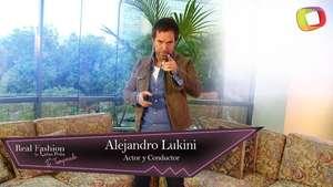 La vida y el estilo de Alejandro Lukini en entrevista con Terra Video: