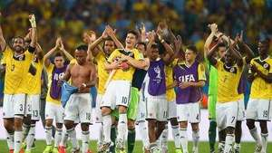 Así celebró la Selección Colombia el paso a cuartos de final Video: