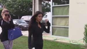 Las Kardashian no se separan ni el gimnasio Video: