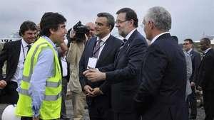 Rajoy visita las obras de ampliación del Canal de Panamá Video: