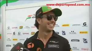 Video: Checo Pérez sobre las mujeres Video: