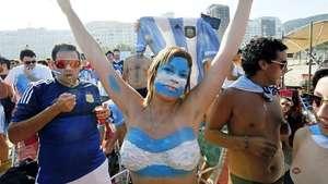 El Sambódromo de Río de Janeiro se tiñe de albiceleste Video: